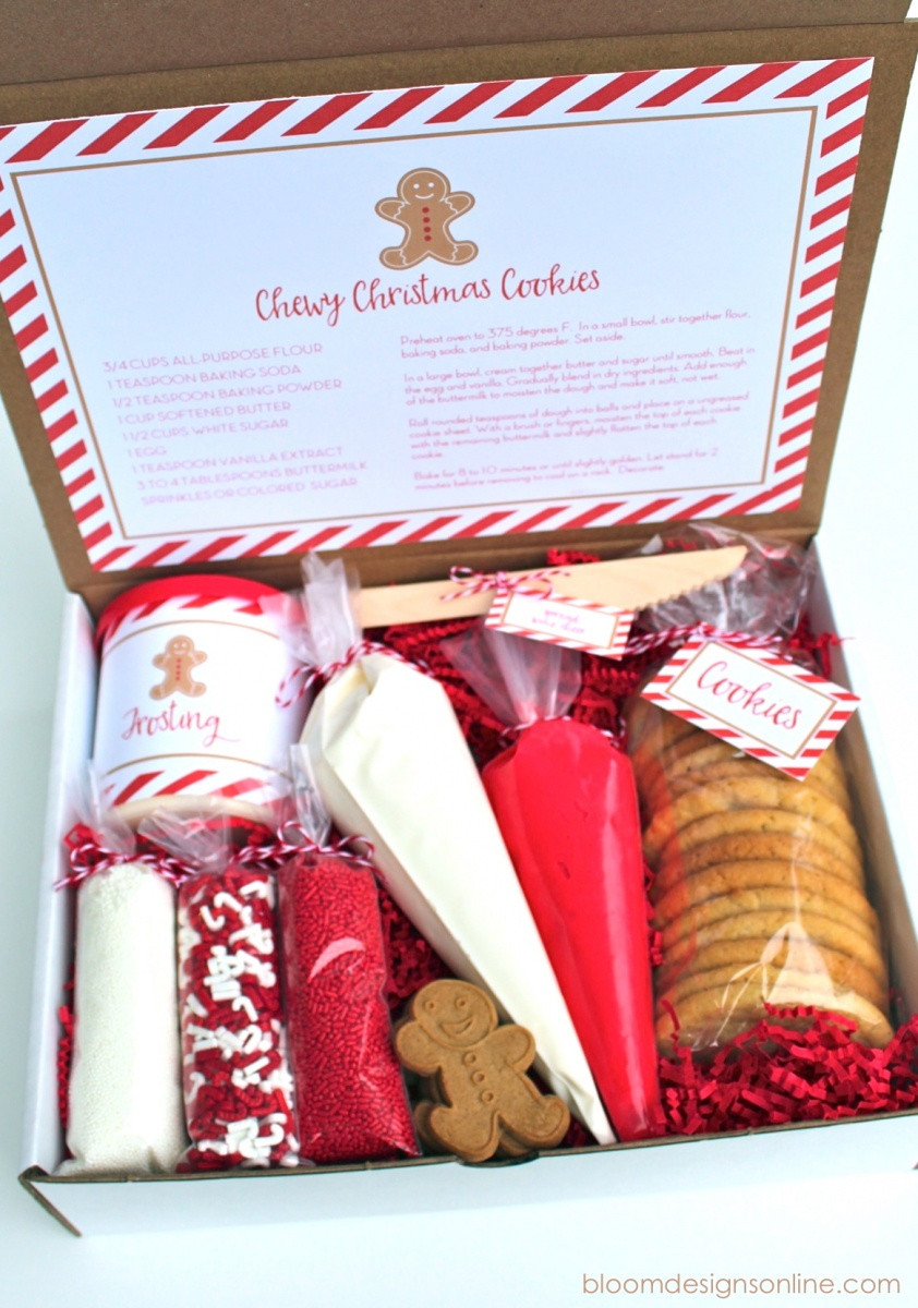 Best ideas about Cookie Gift Ideas . Save or Pin Top 40 Cute Christmas Food Gifts Christmas Celebration Now.