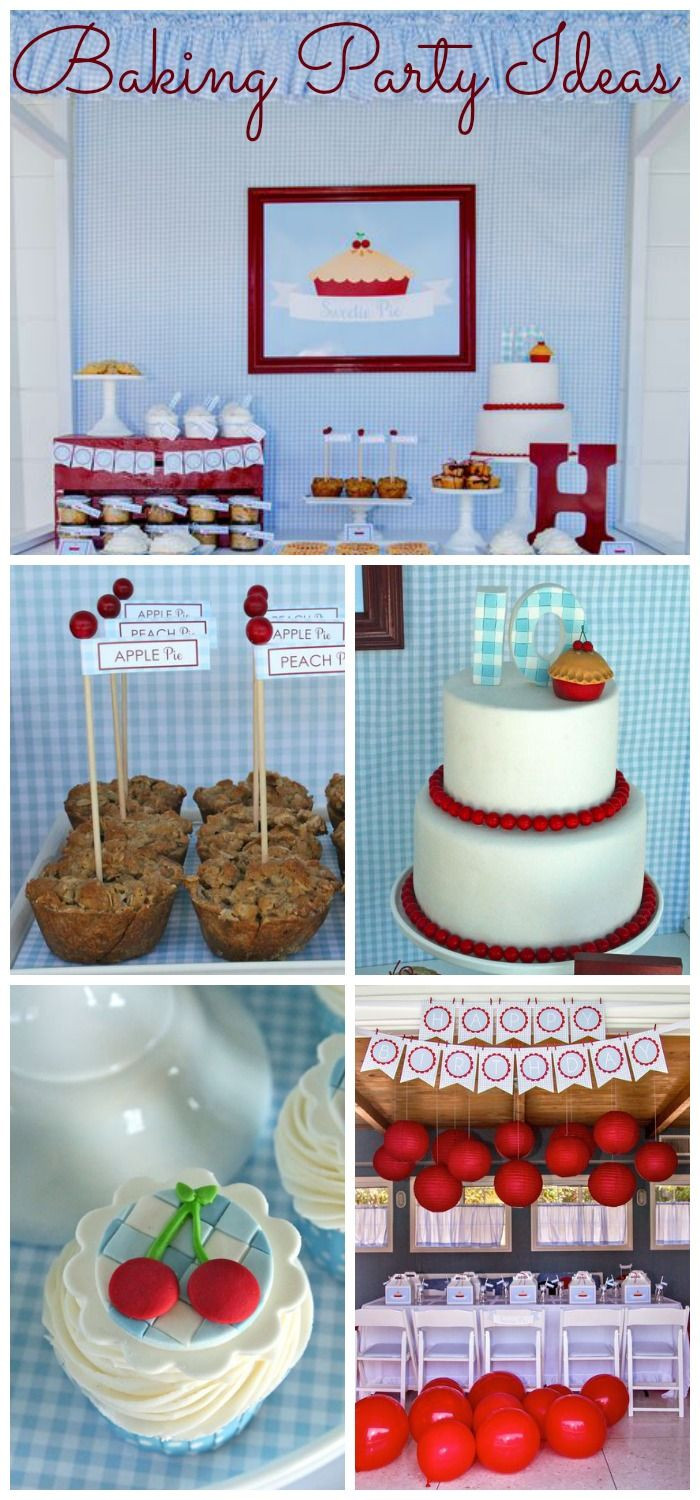 Best ideas about Cooking Birthday Party . Save or Pin 17 Best images about Baking Party Ideas on Pinterest Now.