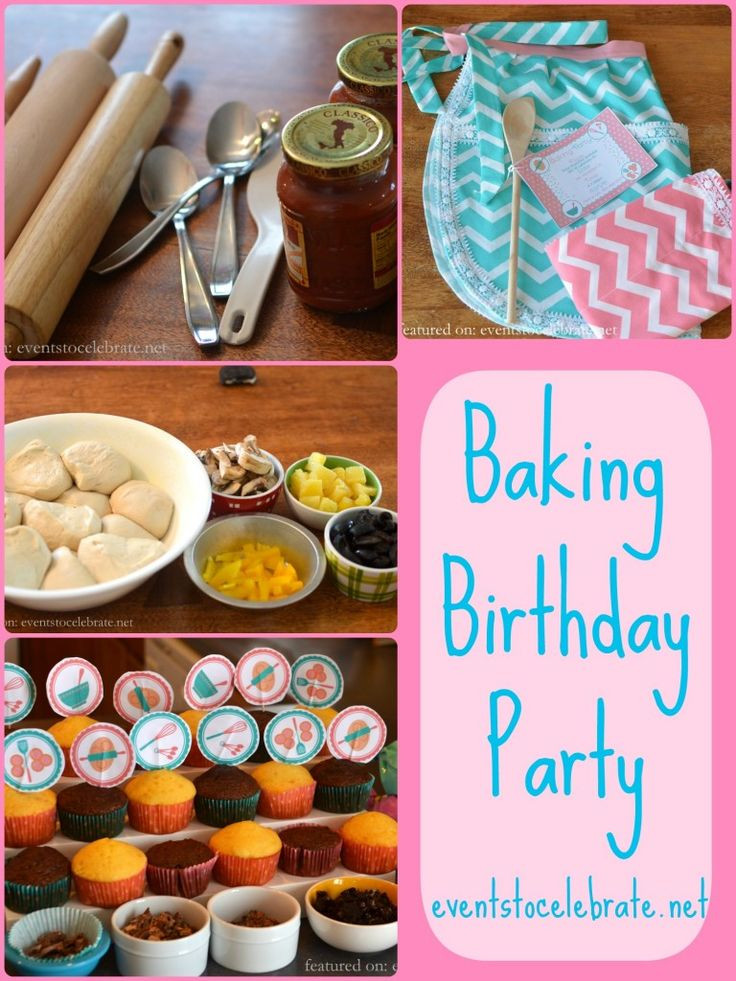 Best ideas about Cooking Birthday Party . Save or Pin Baking Birthday Party Now.