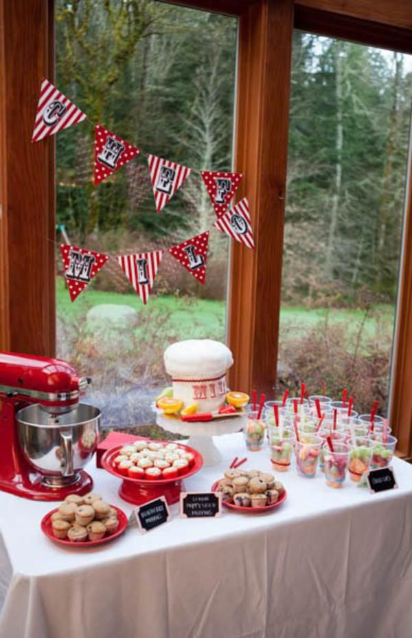 Best ideas about Cooking Birthday Party . Save or Pin 32 best images about Little Chef Party on Pinterest Now.