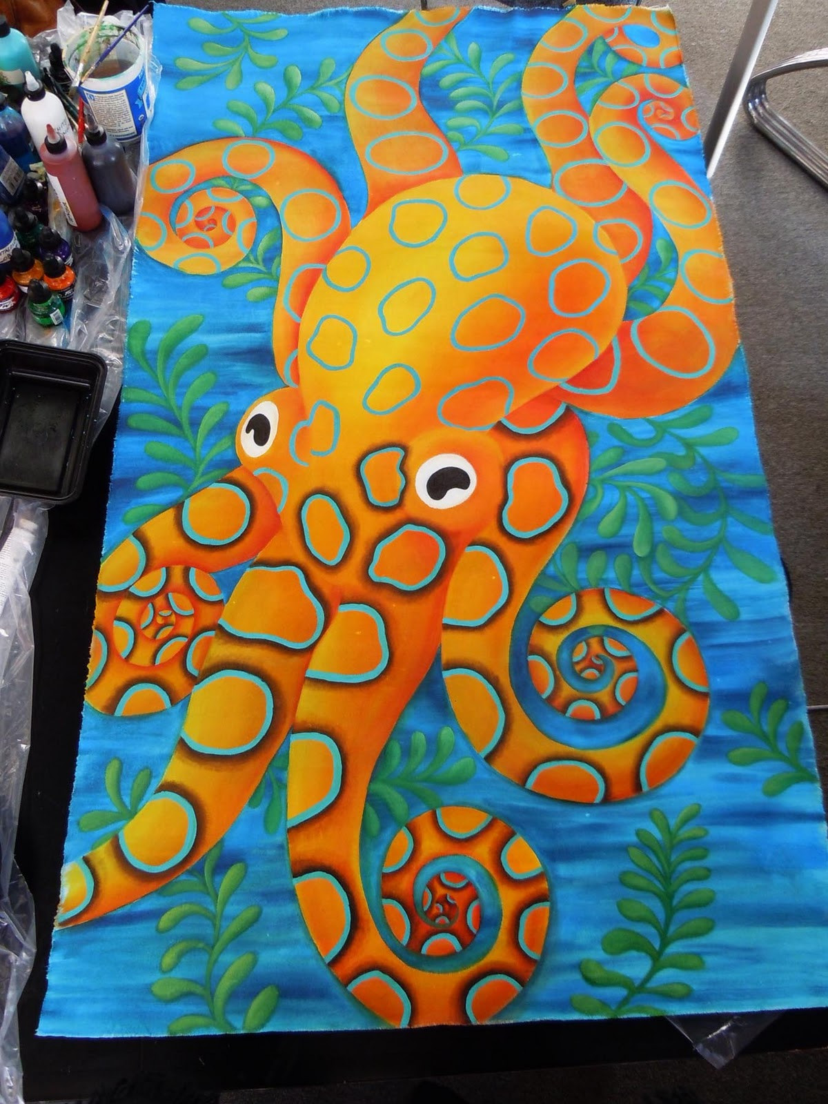 Best ideas about Cool And Easy Things To Paint . Save or Pin Judy Coates Perez Painting Canvas Now.