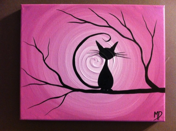 Best ideas about Cool And Easy Things To Paint . Save or Pin Learn The Basics of Canvas Painting Ideas And Projects Now.