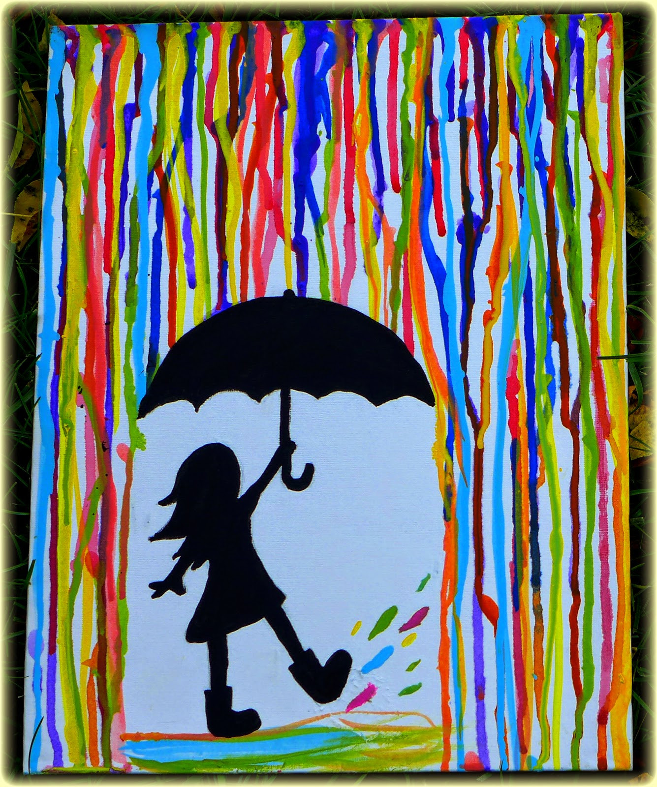 Best ideas about Cool And Easy Things To Paint . Save or Pin EasyMeWorld An Easy Acrylic Painting for Beginners Now.