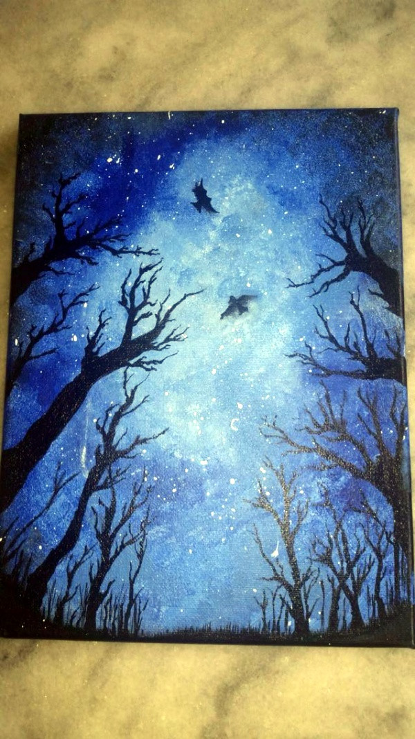 Best ideas about Cool And Easy Things To Paint . Save or Pin 80 Easy Canvas Painting Ideas Now.