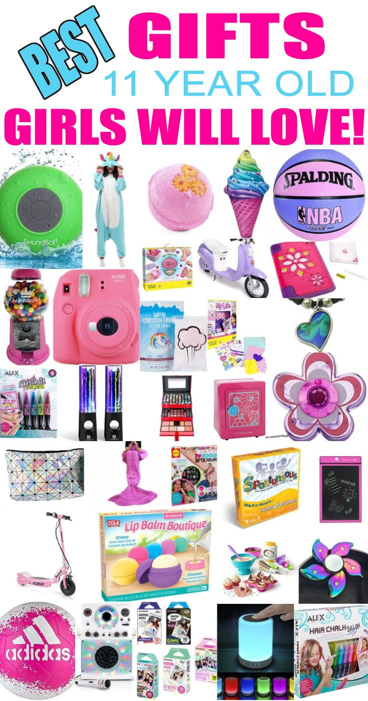 Best ideas about Cool Birthday Gifts For 11 Year Olds . Save or Pin Top Gifts 11 Year Old Girls Will Love Now.