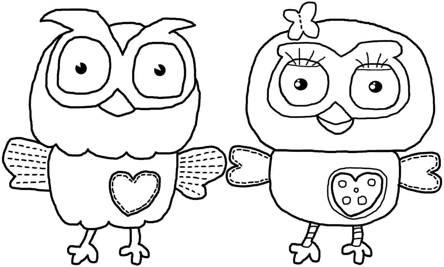 Best ideas about Cool Coloring Pages For Kids Free . Save or Pin owl coloring pages printable free Now.
