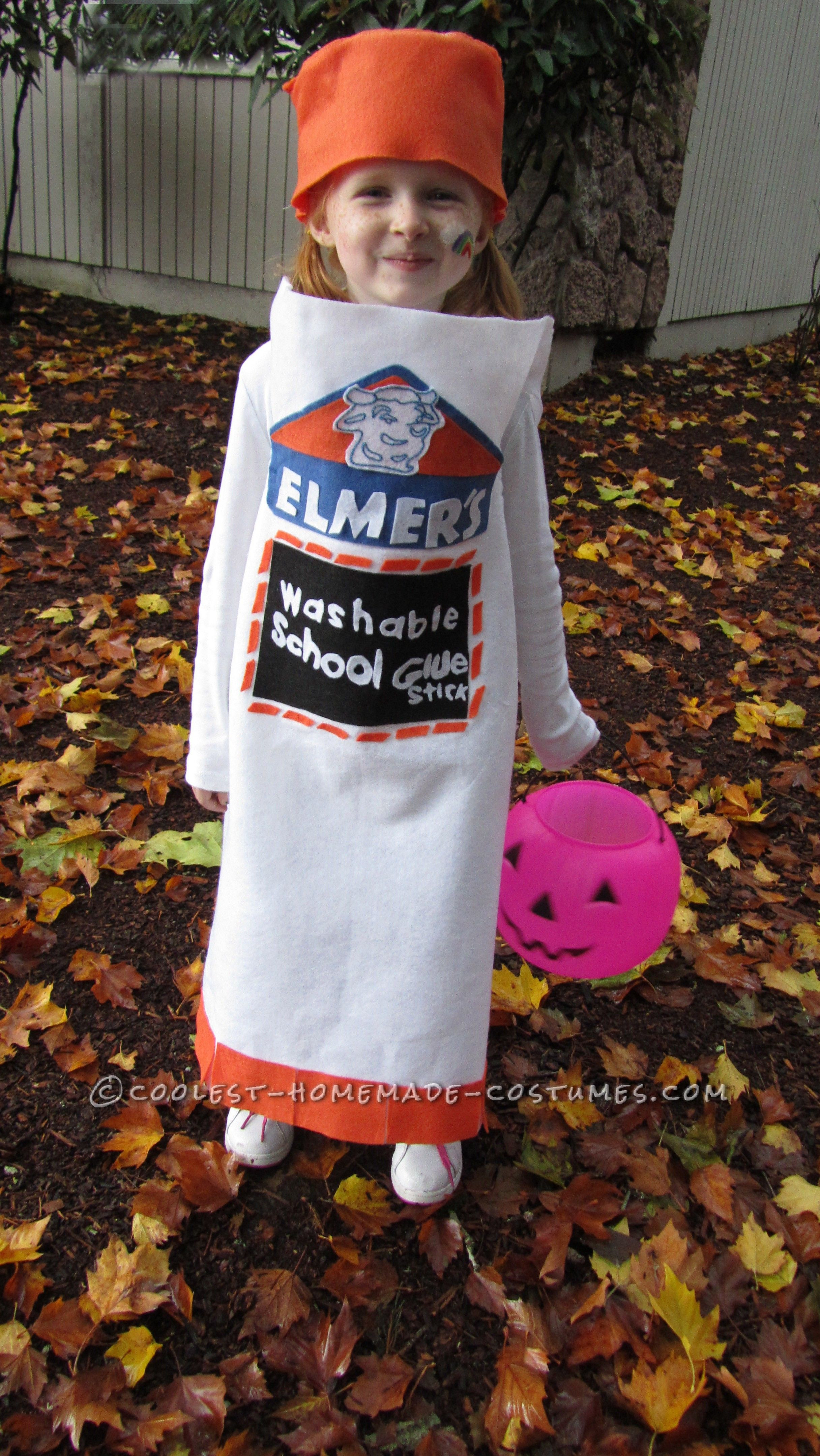 Best ideas about Cool DIY Costumes . Save or Pin Cool Homemade Elmer's Glue Stick Costume for a Girl Now.