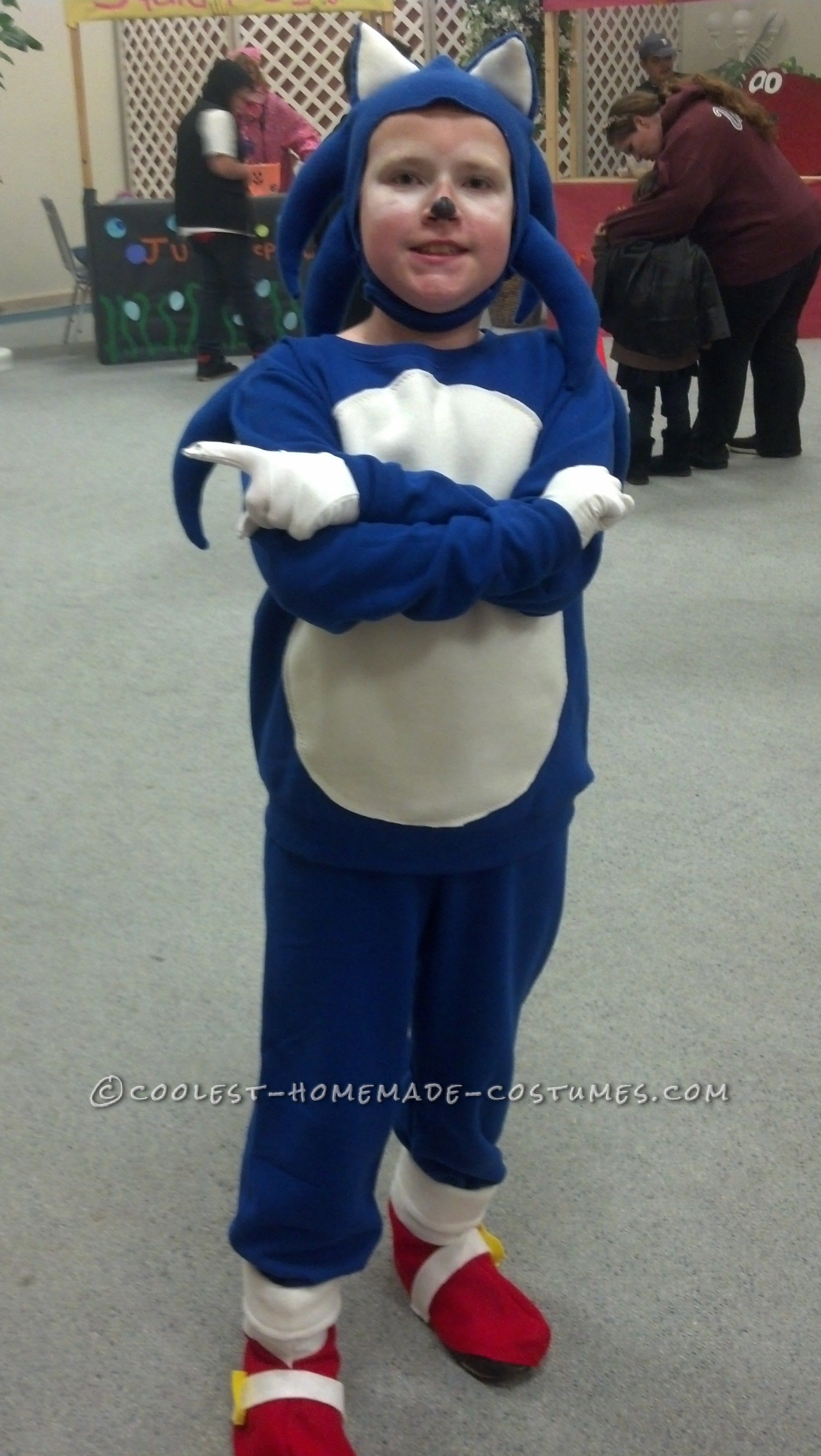 Best ideas about Cool DIY Costumes . Save or Pin Cool Sonic the Hedgehog DIY Halloween Costume Now.
