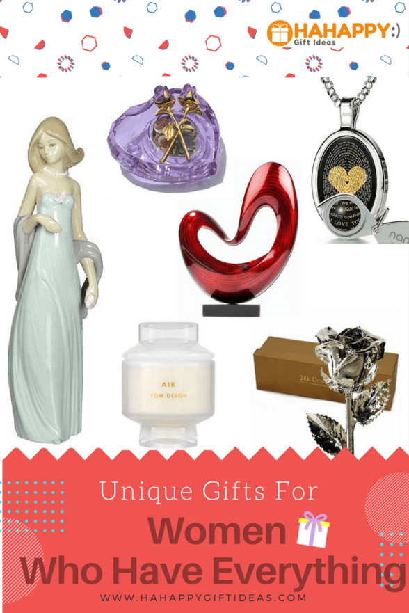 Best ideas about Cool Gift Ideas For Women . Save or Pin 32 Unique Gifts For Women Who Have Everything Now.