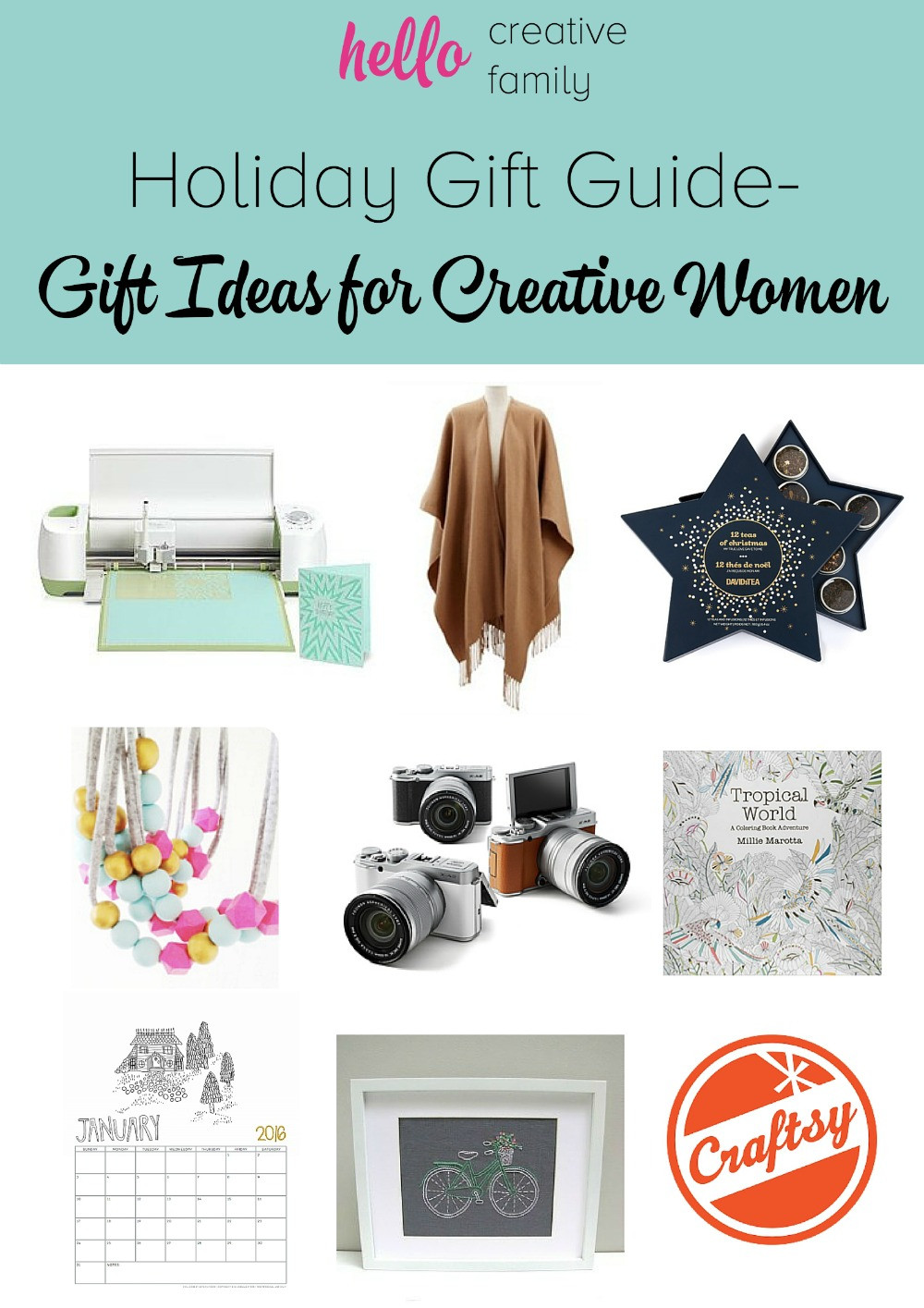 Best ideas about Cool Gift Ideas For Women . Save or Pin Gift Ideas for Creative Women GIVEAWAYS Now.