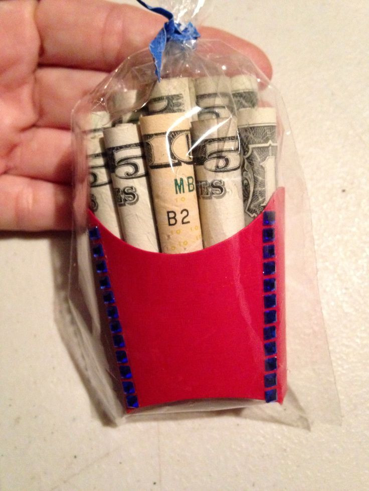 Best ideas about Cool Gift Ideas . Save or Pin Cool money t idea MONEY FRIES Now.