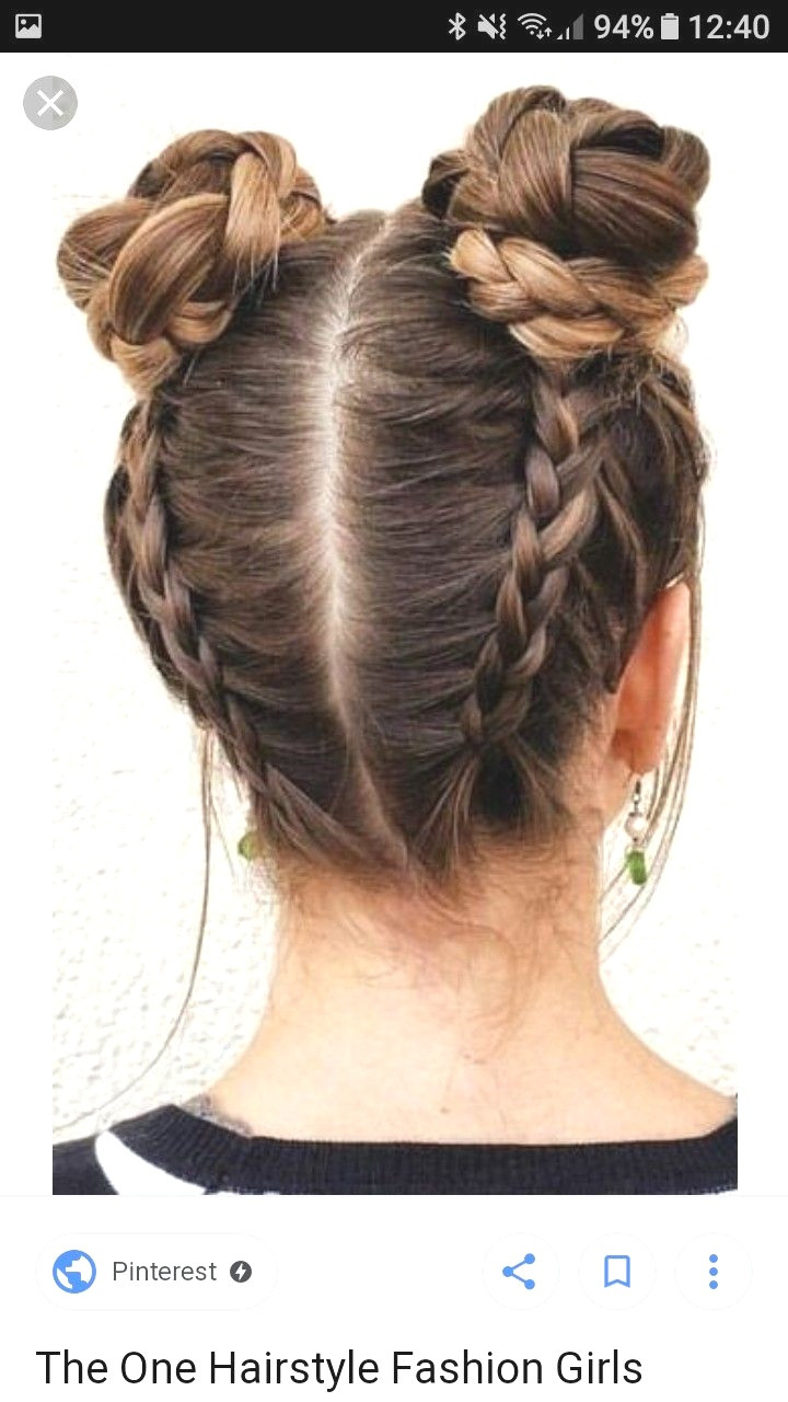 Best ideas about Cool Hairstyles Girl . Save or Pin Fashion Cool Bun Hairstyles Cool Bun Hairstyles For Long Now.