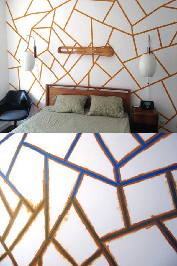 Best ideas about Cool Patterns To Paint . Save or Pin 26 DIY Cool And No Money Decorating Ideas for Your Wall Now.