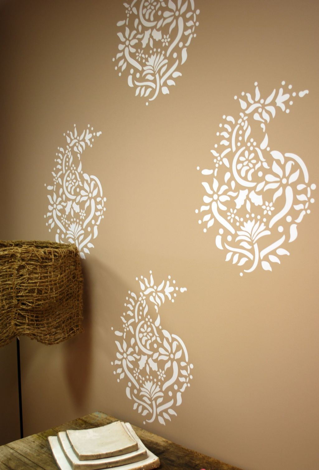 Best ideas about Cool Patterns To Paint . Save or Pin Paisley pattern Cool wall painting designs Now.