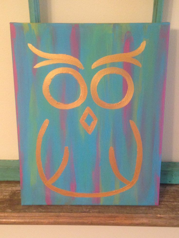Best ideas about Cool Patterns To Paint . Save or Pin 30 Easy Canvas Painting Ideas Art Pinterest Now.