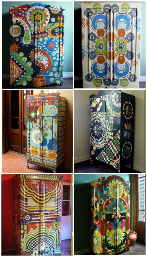 Best ideas about Cool Patterns To Paint . Save or Pin minzer old soul Painted Furniture Now.