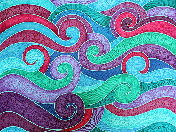 Best ideas about Cool Patterns To Paint . Save or Pin Illustrator and Designer Lorrie Whittington Now.