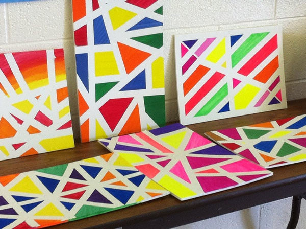 Best ideas about Cool Patterns To Paint . Save or Pin 80 Easy Canvas Painting Ideas Now.