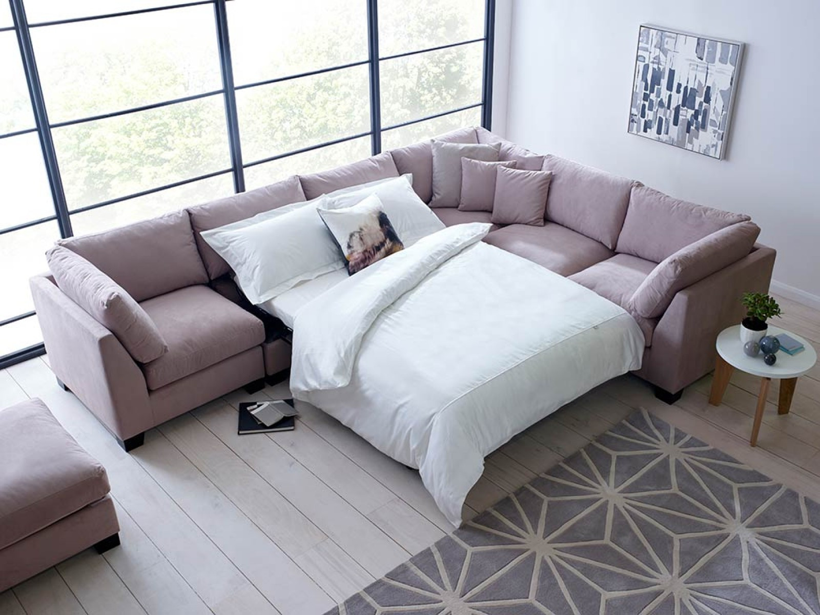 Best ideas about Corner Sofa Bed . Save or Pin Isabelle Corner Sofa Bed Sectional Now.