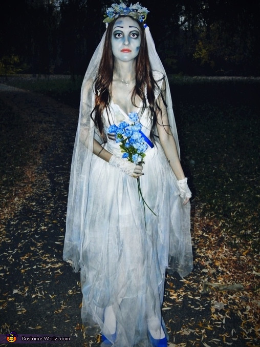 Best ideas about Corpse Bride Costume DIY . Save or Pin Creative Corpse Bride Costume 2 3 Now.
