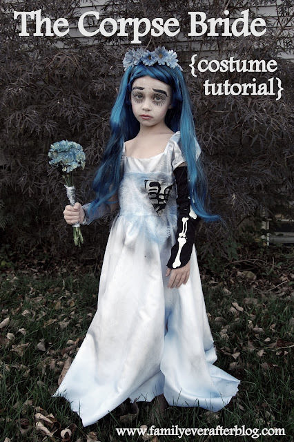 Best ideas about Corpse Bride Costume DIY . Save or Pin The Corpse Bride Girl s Costume DIY Tutorial Now.
