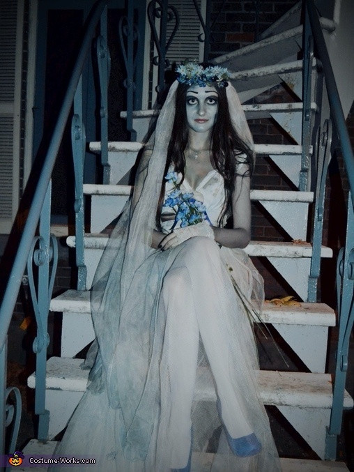 Best ideas about Corpse Bride Costume DIY . Save or Pin Corpse Bride Costume Now.