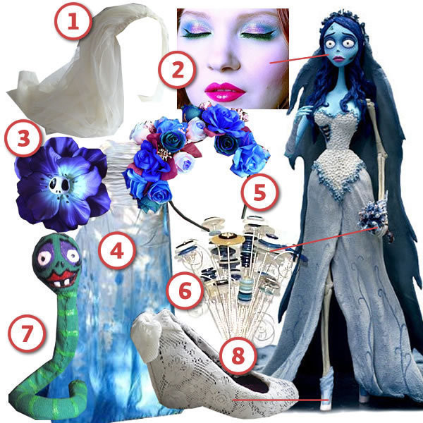 Best ideas about Corpse Bride Costume DIY . Save or Pin The Corpse Bride · DIY The Look · Cut Out Keep Craft Blog Now.
