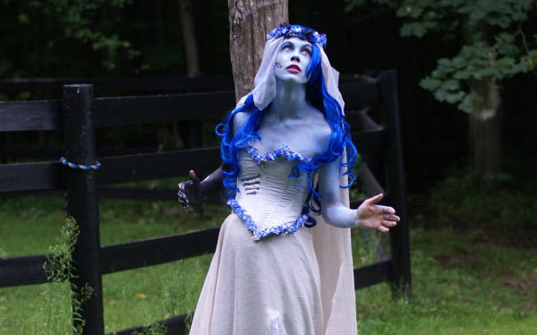 Best ideas about Corpse Bride Costume DIY . Save or Pin DIY Corpse Bride Emily Costume Now.