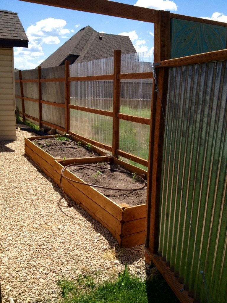 Best ideas about Corrugated Metal Fence DIY . Save or Pin corrugated metal fence diy Now.