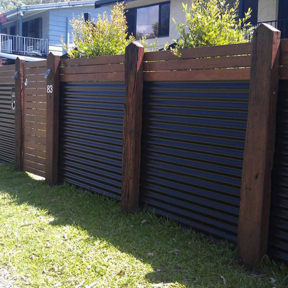 Best ideas about Corrugated Metal Fence DIY . Save or Pin 10 Modern Fence Ideas for Your Backyard — The Family Handyman Now.
