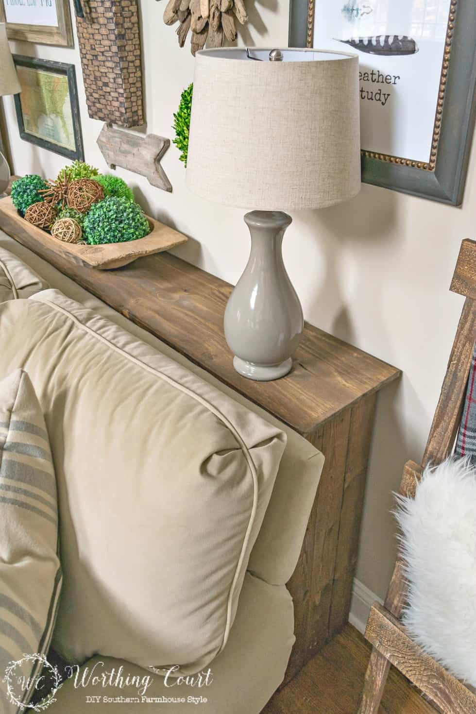 Best ideas about Couch Table DIY . Save or Pin e More Problem Solved In My Family Room How To Build A Now.