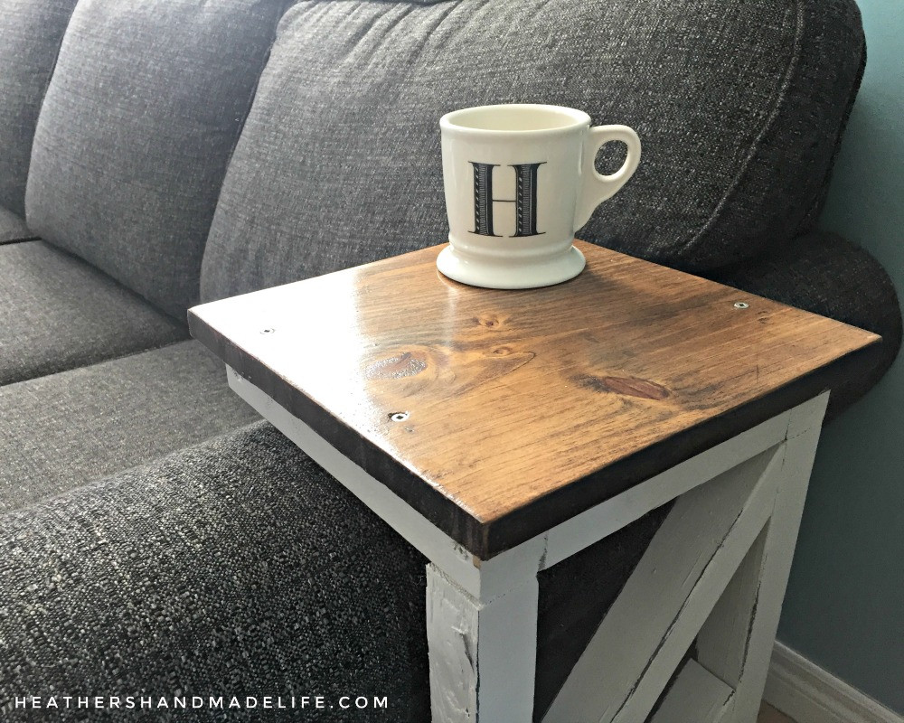 Best ideas about Couch Table DIY . Save or Pin Easy DIY sofa tables Heather s Handmade Life Now.