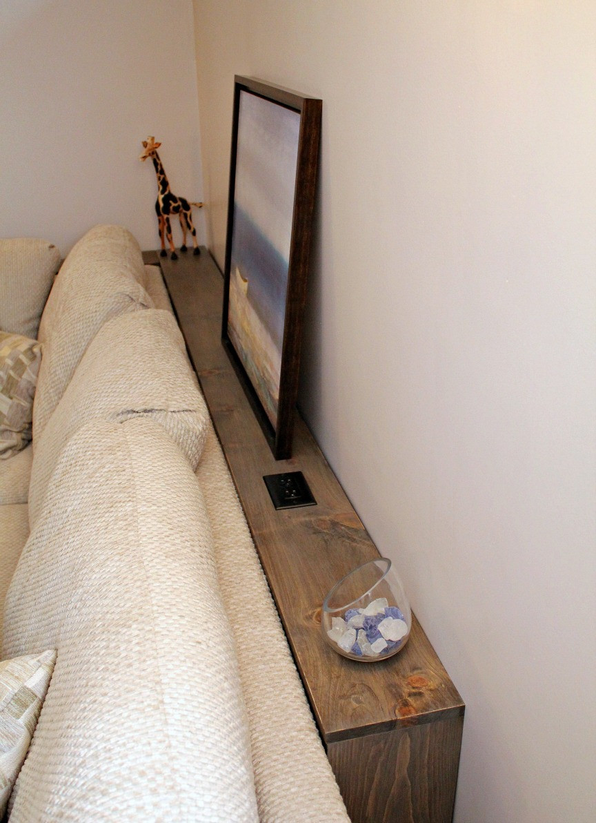 Best ideas about Couch Table DIY . Save or Pin Turtles and Tails DIY Sofa Table Now.