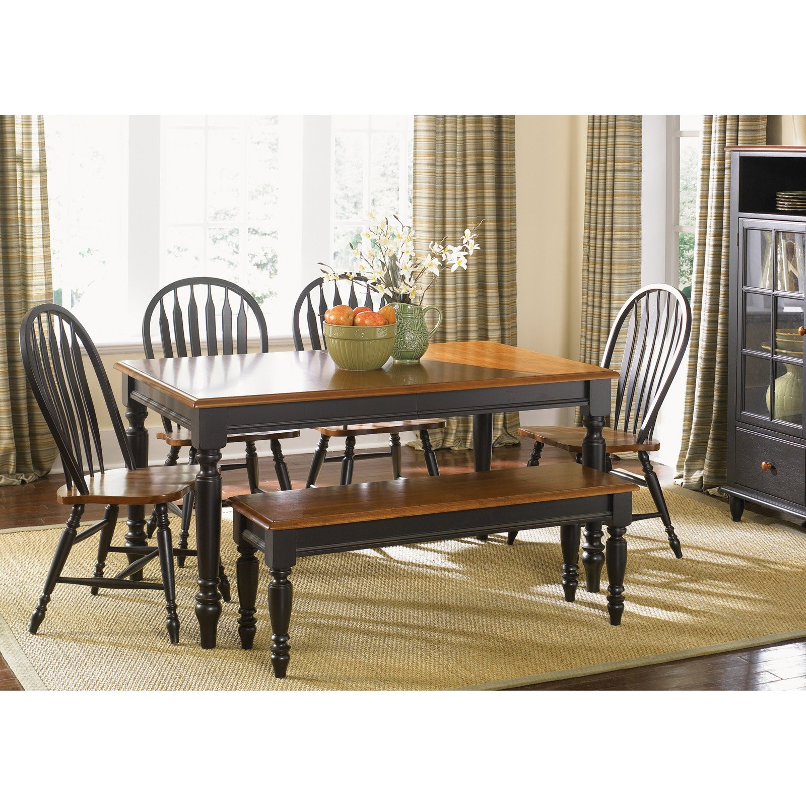 Best ideas about Country Dining Table . Save or Pin Liberty Furniture Low Country Black Rectangle Leg Dining Now.