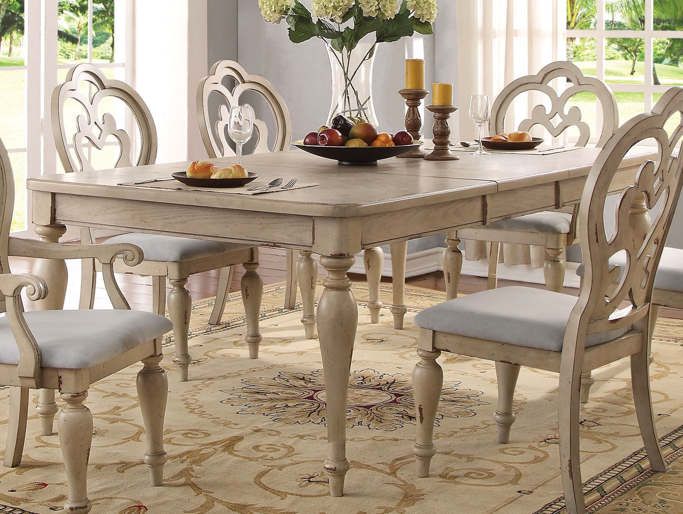 Best ideas about Country Dining Table . Save or Pin French Country Dining Table Set Now.