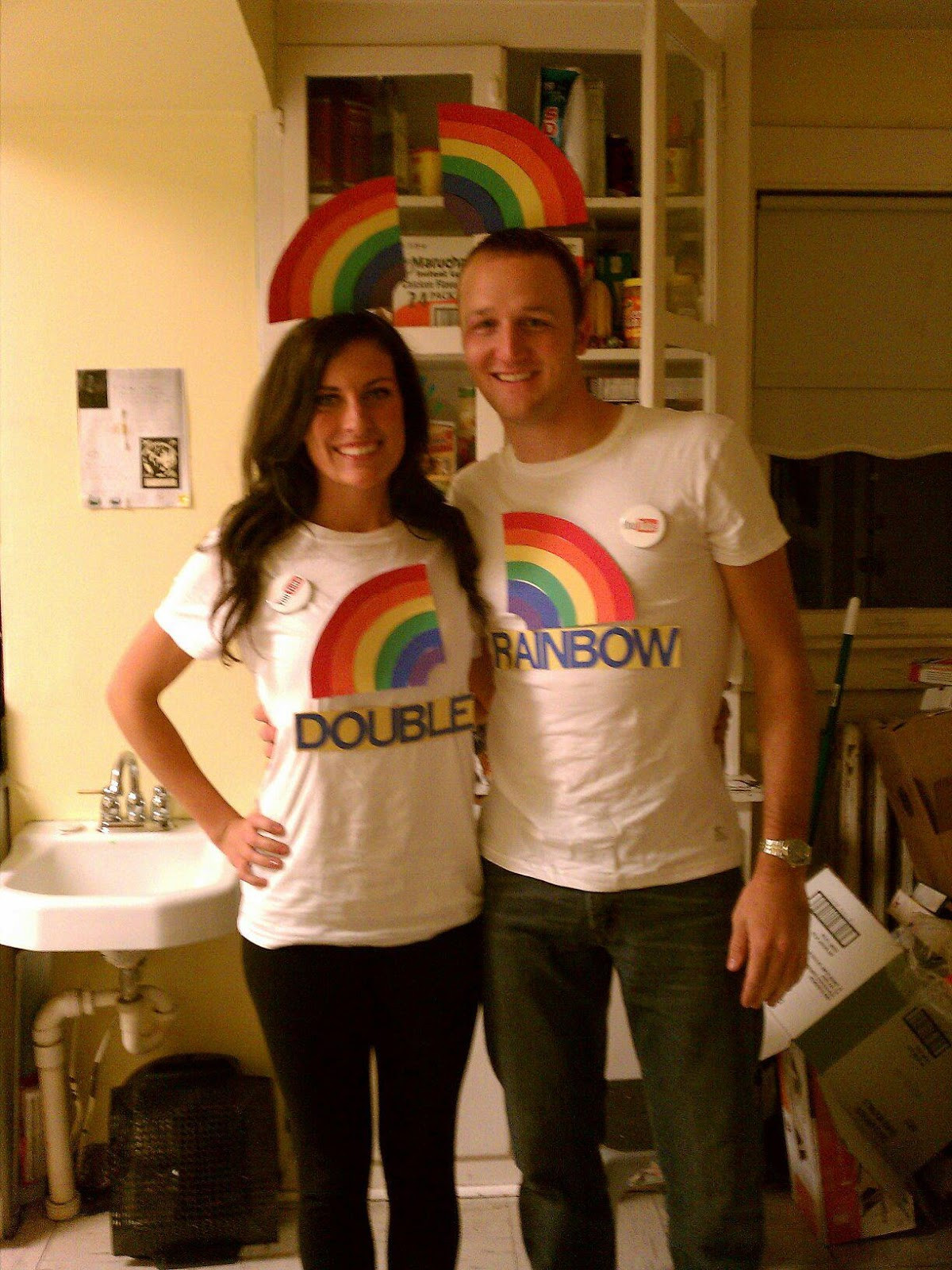 Best ideas about Couple Costumes DIY . Save or Pin Katie in Kansas DIY Couples Halloween Costume Ideas Now.