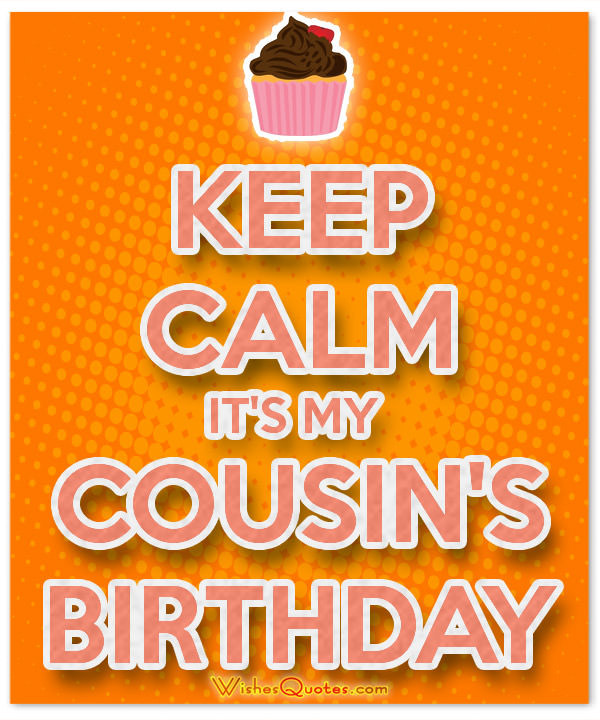 Best ideas about Cousins Birthday Wish . Save or Pin Birthday Messages for your Awesome Cousin Now.