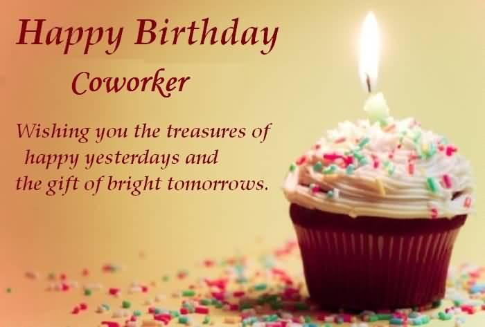 Best ideas about Coworker Birthday Wish . Save or Pin Coworker Birthday Wishes Nicewishes Now.