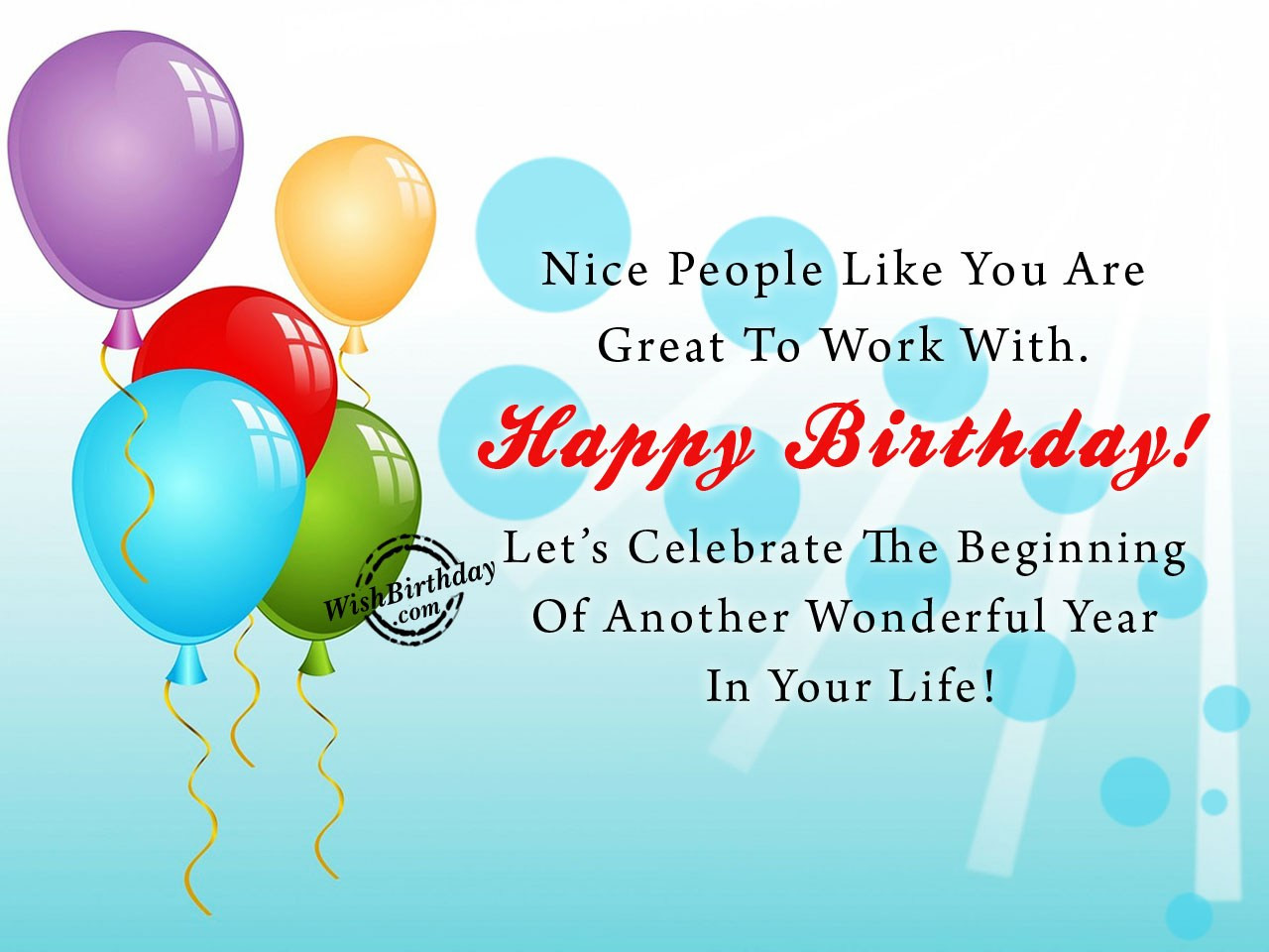 Best ideas about Coworker Birthday Wish . Save or Pin Birthday Wishes For Colleague Birthday Now.