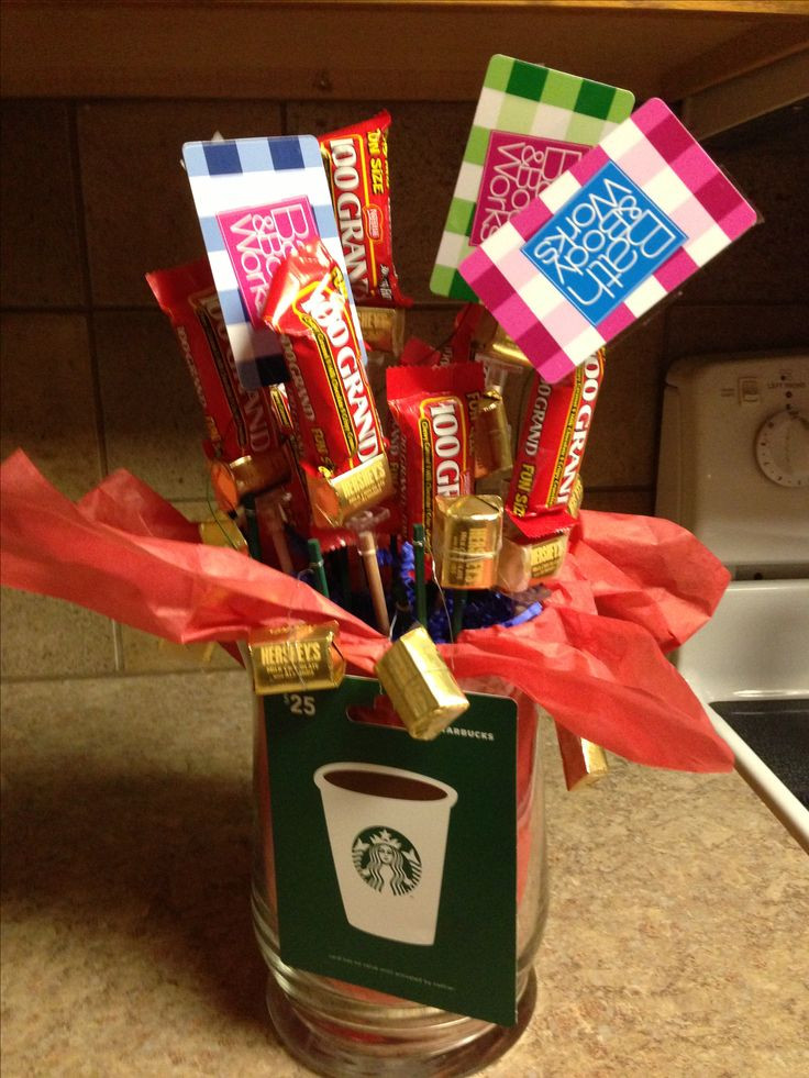 Best ideas about Coworker Gift Ideas . Save or Pin Thanks a Million Candy Bouquet great thank you t for Now.