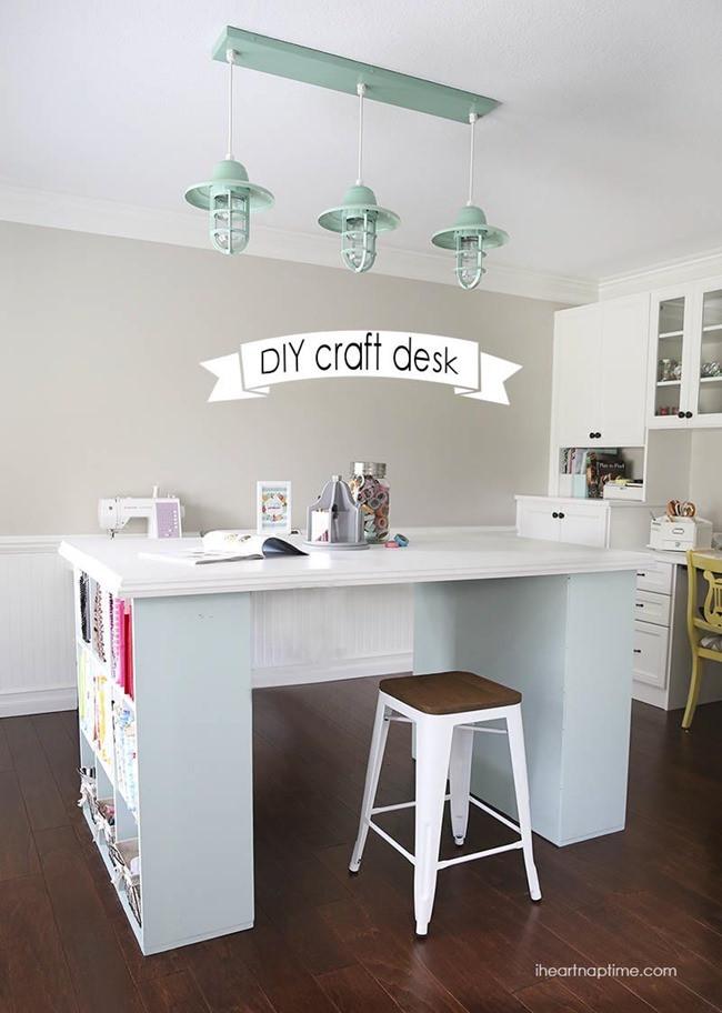 Best ideas about Craft Desk Ideas . Save or Pin 7 DIY Craft Desks Now.