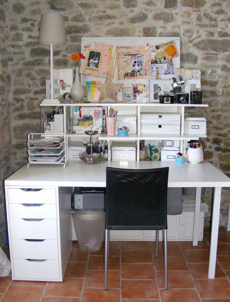 Best ideas about Craft Desk Ideas . Save or Pin 101 best images about Craft desk ideas on Pinterest Now.