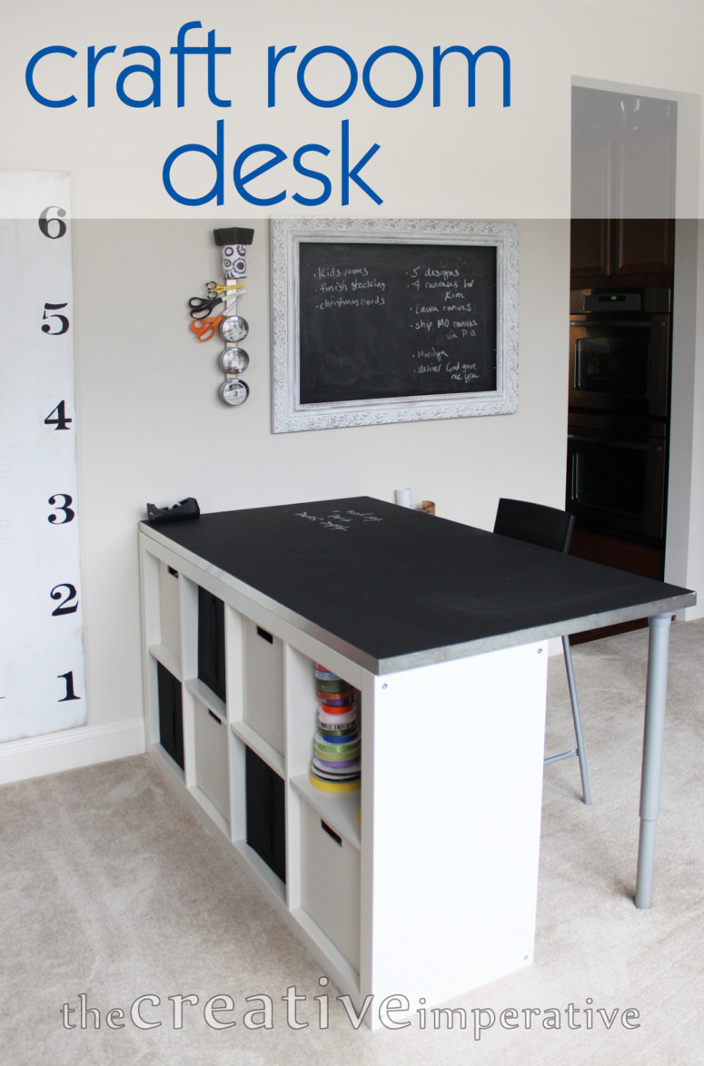 Best ideas about Craft Desk Ideas . Save or Pin 12 Awesome DIY Craft Tables With Free Plans Shelterness Now.