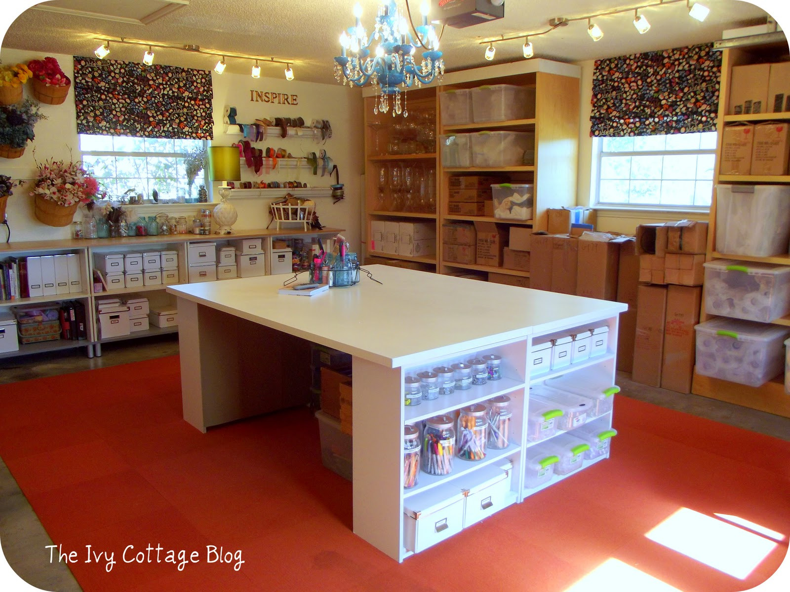 Best ideas about Craft Desk Ideas . Save or Pin Do You Have Ideas For Your Dream Craft Room Now.