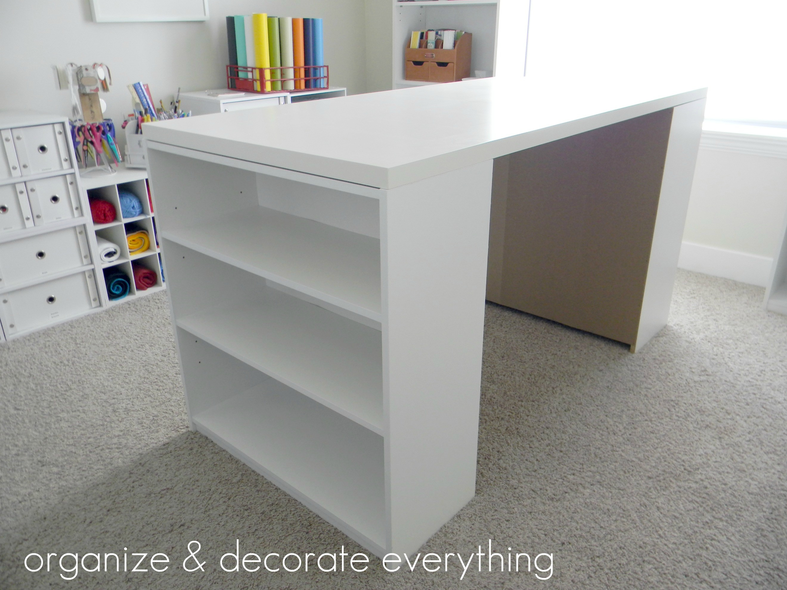 Best ideas about Craft Desk Ideas . Save or Pin Make Your Own DIY Craft Table Using Inexpensive Pieces Now.