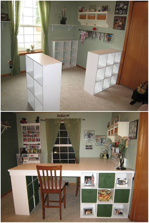 Best ideas about Craft Desk Ideas . Save or Pin 25 Creative DIY Projects to Make a Craft Table i Now.