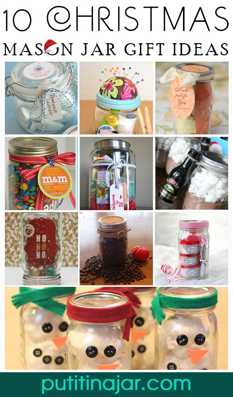Best ideas about Craft Ideas For Christmas Gifts . Save or Pin 10 DIY Mason Jar Christmas Gift Craft Ideas & Tutorials Now.