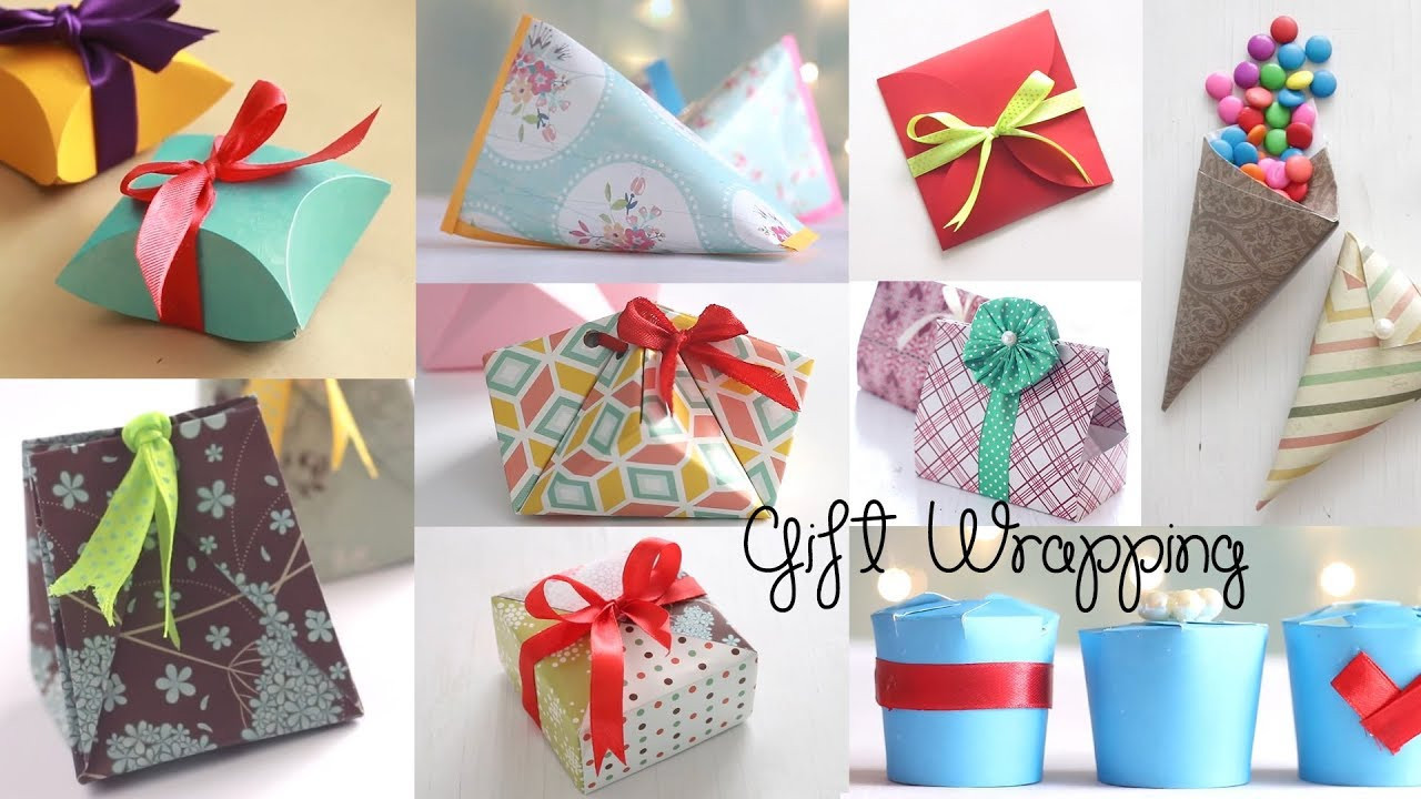 Best ideas about Craft Ideas For Gifts . Save or Pin 10 Fantastic Gift Wrap Ideas Paper Crafts Now.