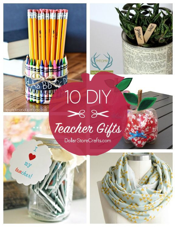 Best ideas about Craft Ideas For Gifts . Save or Pin 10 Cute DIY Teacher Gifts bud friendly cute crafts Now.