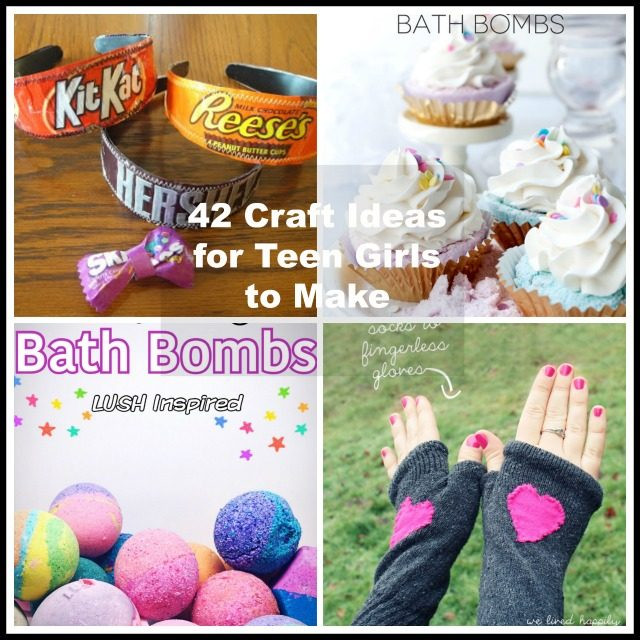 Best ideas about Craft Ideas For Teens . Save or Pin 42 Craft Ideas for Teen Girls to Make Now.